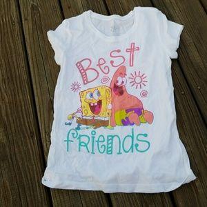 Justice Sponge Bob & Patrick best friends  size 10